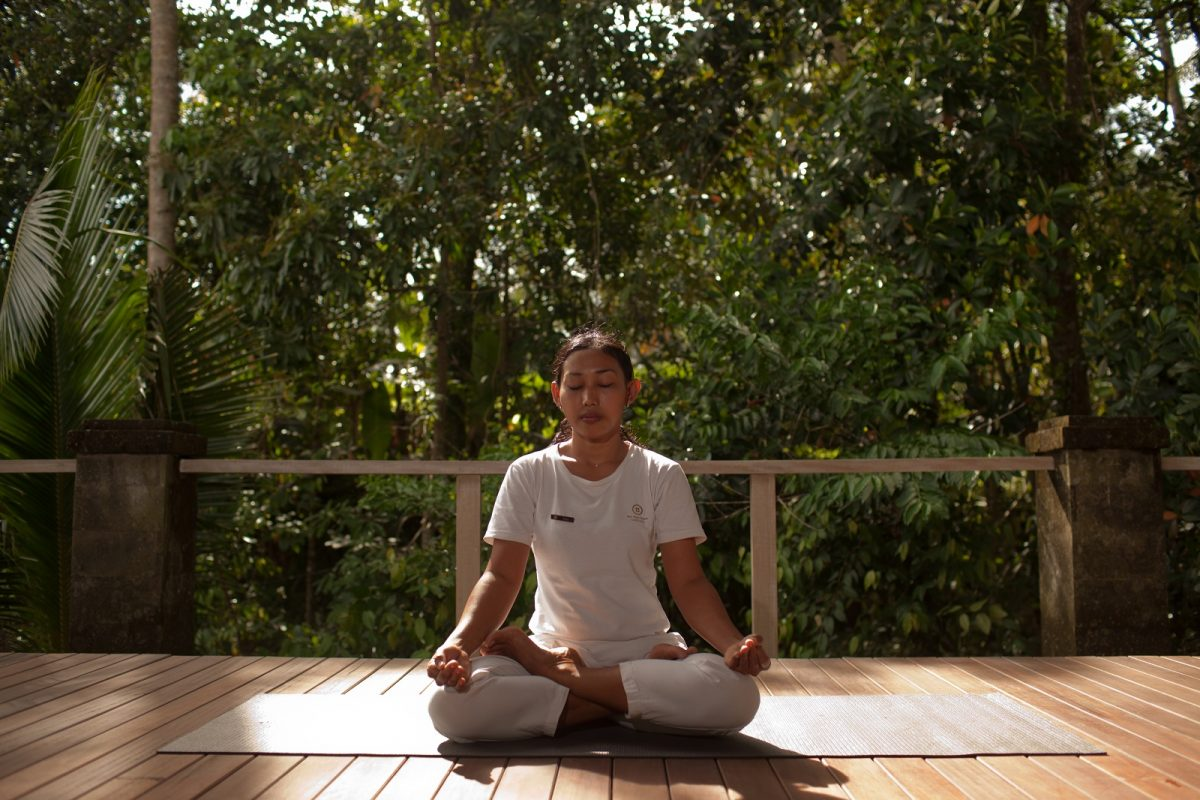 Meditation at Passion for Living Retreats Bali